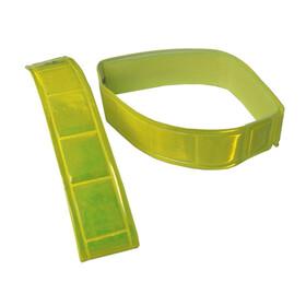 Wowow Reflexband med kardborrband 1 Par gul